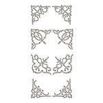 Prima - Say It In Crystals Collection - Self Adhesive Jewel Art - Bling - Corner 2
