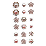 Prima - Say It In Crystals Collection - Self Adhesive Jewels - Bling - Assortment 16