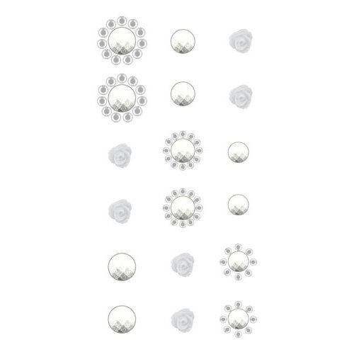 Prima - Say It In Crystals Collection - Self Adhesive Jewels - Bling - Assortment 17