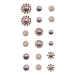 Prima - Say It In Crystals Collection - Self Adhesive Jewels - Bling - Assortment 20
