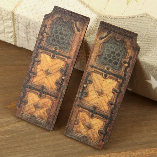 Prima - Wood Embellishments - Doors - Set 1