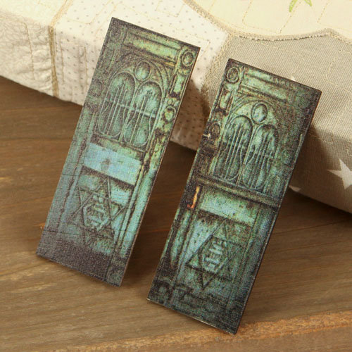 Prima - Wood Embellishments - Doors - Set 2
