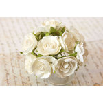 Prima - Soprano Collection - Flower Embellishments - White