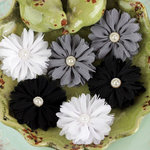 Prima - Cabaletta Collection - Fabric Flower Embellishments - Winter