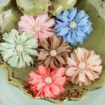 Prima - Cabaletta Collection - Fabric Flower Embellishments - Spring