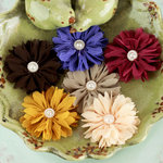 Prima - Cabaletta Collection - Fabric Flower Embellishments - Fall