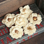 Prima - Fabric Flower Embellishments - Sarah
