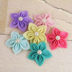 Prima - Lyrique Collection - Felt Flower Embellishments - Lights