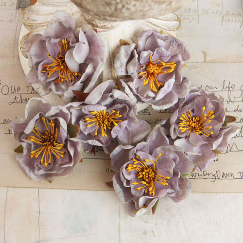 Prima - Bel Canto Collection - Flower Embellishments - Light Lavender