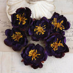 Prima - Bel Canto Collection - Flower Embellishments - Purple