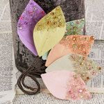 Prima - Spotlight Collection - Leaves Embellishments - Pastel