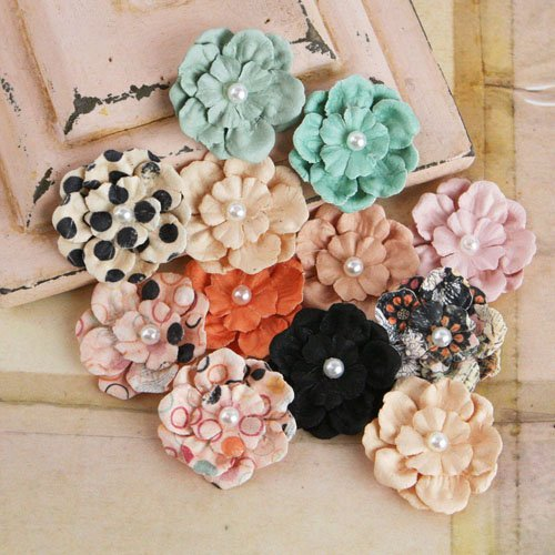 Prima - Silentium Collection - Flower Embellishments - Rondelle