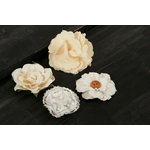 Prima - Au Naturale Collection - Fabric Flower Embellishments - Mix 2