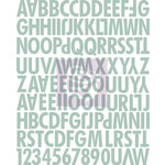 Prima - Lifetime Collection - Canvas Alphabet Stickers - Uppercase