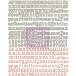 Prima - Fairy Rhymes Collection - Canvas Alphabet Stickers