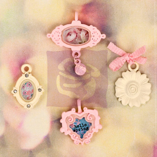 Prima - Hello Pastel Collection - Vintage Trinkets