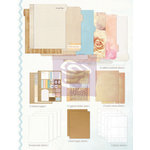 Prima - Mixed Media Album - Inner Pages Refill - Large