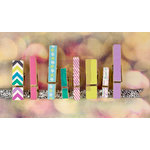 Prima - Hello Pastel Collection - Canvas Covered Wood Clips