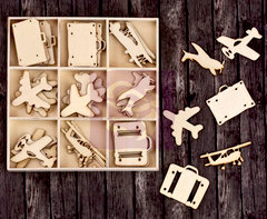 Prima - Wood Icons in a Box - Travel