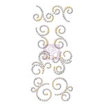 Prima - Say it In Crystals Collection - Bling - Mini Swirls - Divine