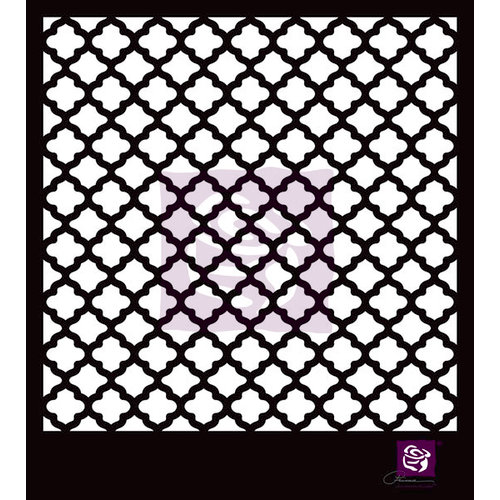 Prima - Stencils Mask Set - 6 x 6 - Lattice