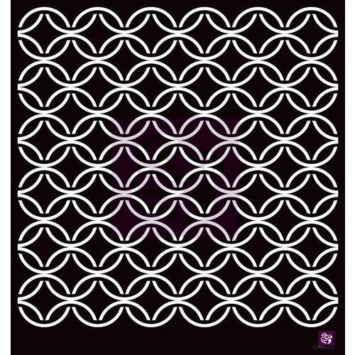Prima - Stencils Mask Set - 12 x 12 - Circle Lattice