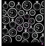 Prima - Stencils Mask Set - 12 x 12 - Clocks