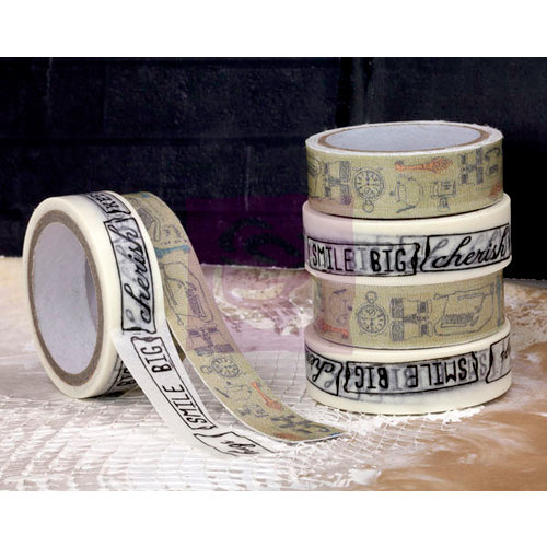 Prima - Lifetime Collection - Washi and Fabric Tape