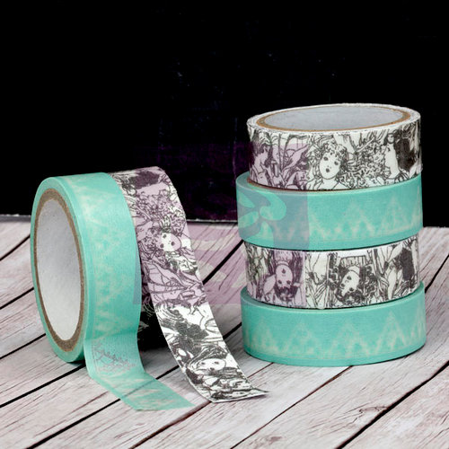 Prima - Fairy Rhymes Collection - Washi and Fabric Tape