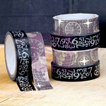 Prima - Engraver Collection - Washi and Fabric Tape
