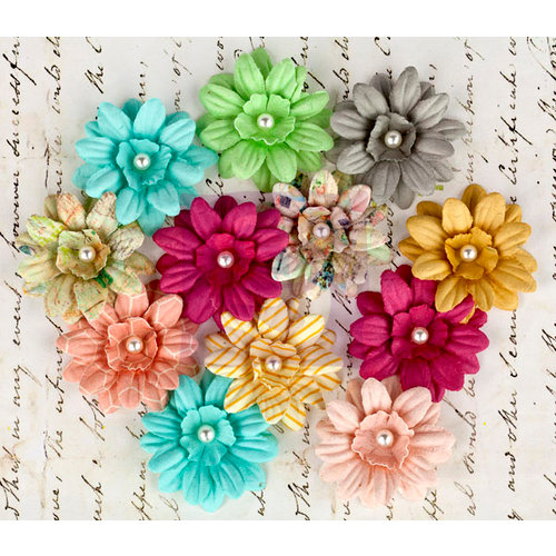 Prima - Divine Collection - Flower Embellishments - Daisies