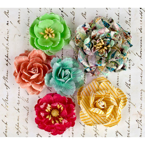 Prima - Divine Collection - Flower Embellishments - Roses