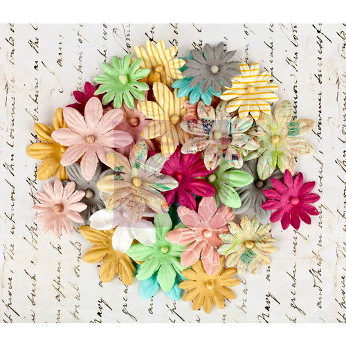 Prima - Divine Collection - Flower Embellishments - Multi-Pack