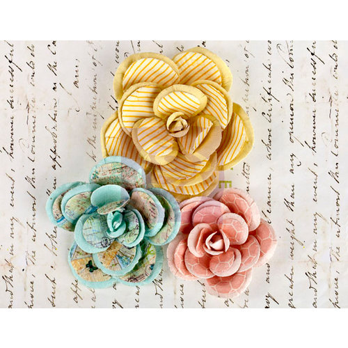 Prima - Divine Collection - Flower Embellishments - Large Flowers