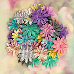 Prima - Hello Pastel Collection - Flower Embellishments - Multi-Pack