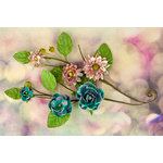 Prima - Hello Pastel Collection - Flower Embellishments - Vines