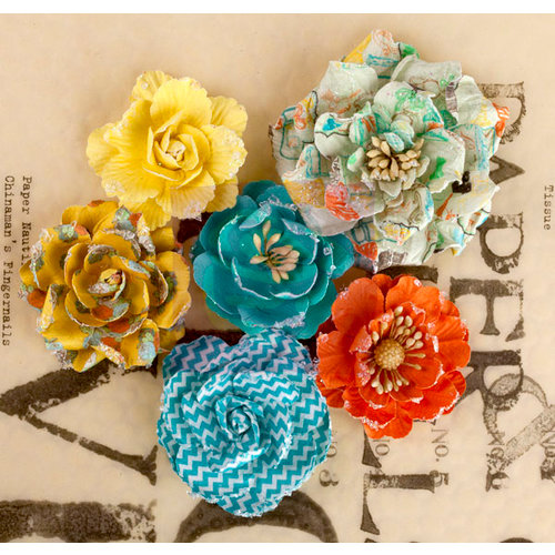 Prima - Lady Bird Collection - Flower Embellishments - Roses