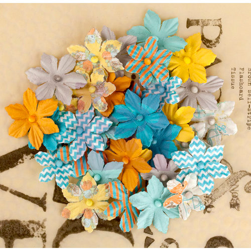 Prima - Lady Bird Collection - Flower Embellishments - Multi-Pack