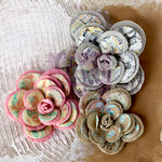 Prima - Lifetime Collection - Flower Embellishments - Large Flowers