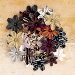 Prima - Engraver Collection - Flower Embellishments - Flower Multi-Pack