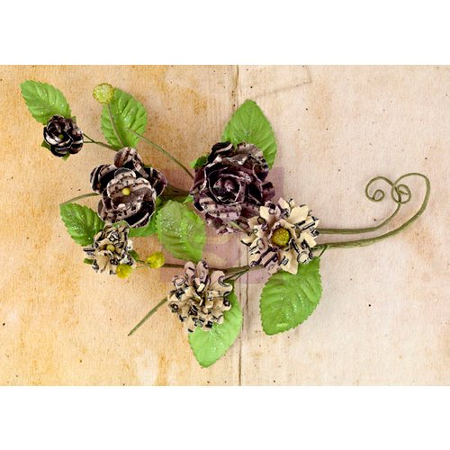 Prima - Engraver Collection - Flower Embellishments - Vines