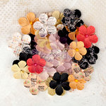 Prima - Lyric Collection - Flower Embellishments - Multi-Pack