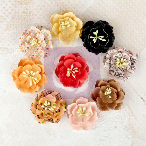 Prima - Lyric Collection - Flower Embellishments - Daisies