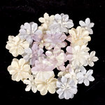 Prima - Frost Collection - Flower Embellishments - Frappe VII