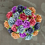 Prima - Mini Sachet Collection - Flower Embellishments - Sunrise