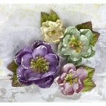 Prima - Tatiana Collection - Flower Embellishments - Victorian