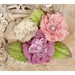 Prima - Paquita Collection - Flower Embellishments - Dawn