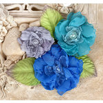 Prima - Paquita Collection - Flower Embellishments - Surfside