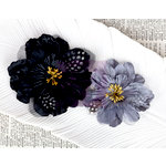 Prima - Firebird Collection - Flower Embellishments - Swan