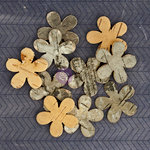 Prima - Natural Bark Icons - Wood Embellishments - Flowers